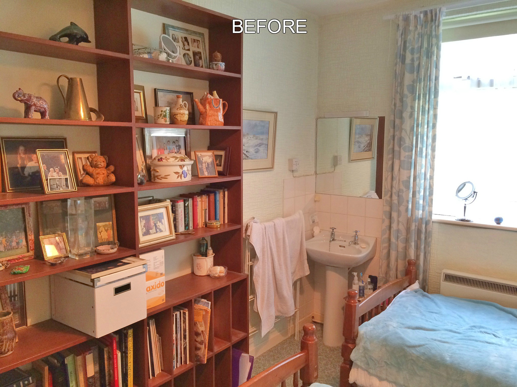 Before - a Bedroom Styled by Sarah Maidment Interiors, Berkhamsted, St. Albans, Hertfordshire