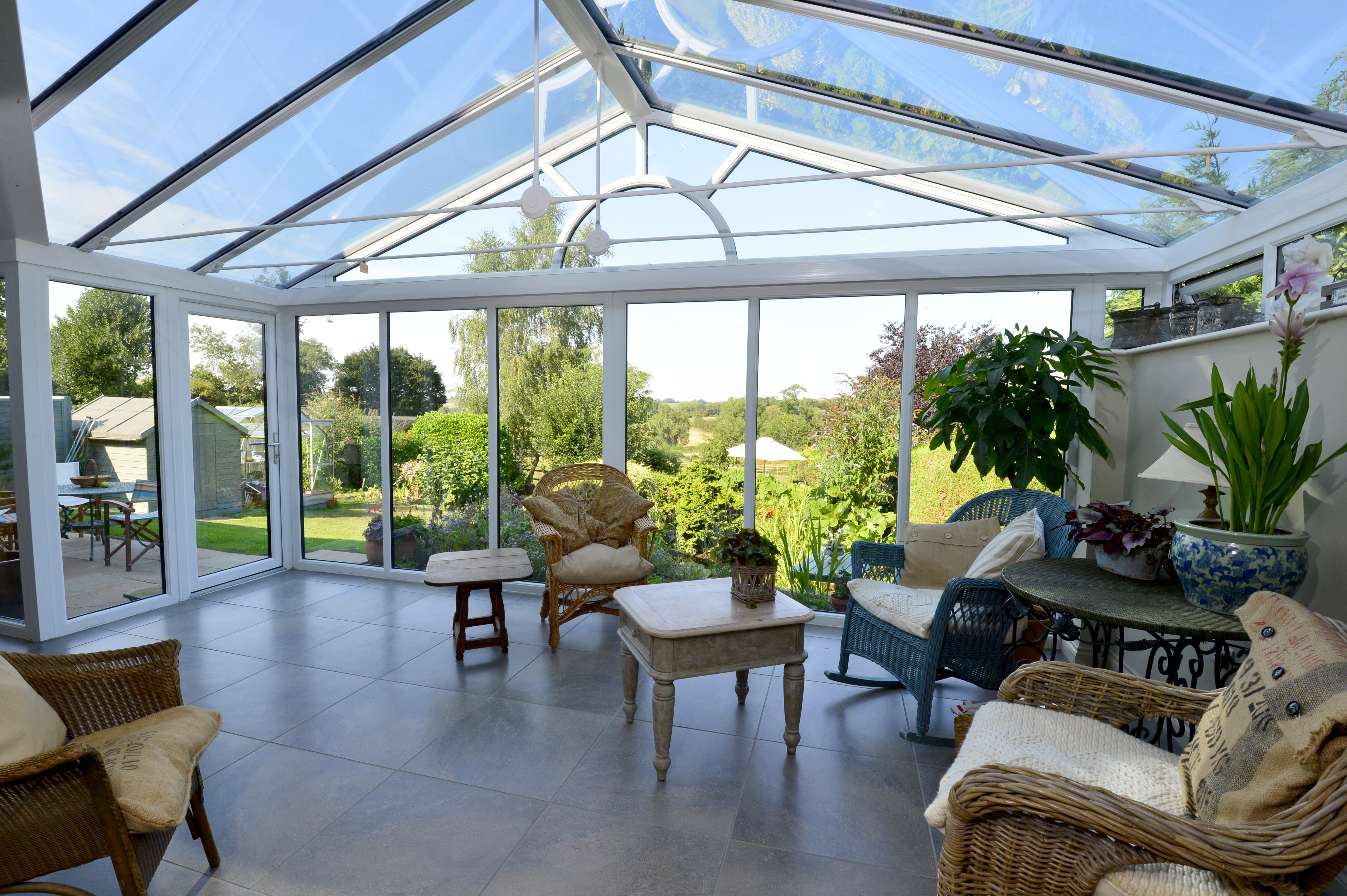 Conservatory Interior Design, by Sarah Maidment Interiors, Berkhamsted, St. Albans, Hertfordshire