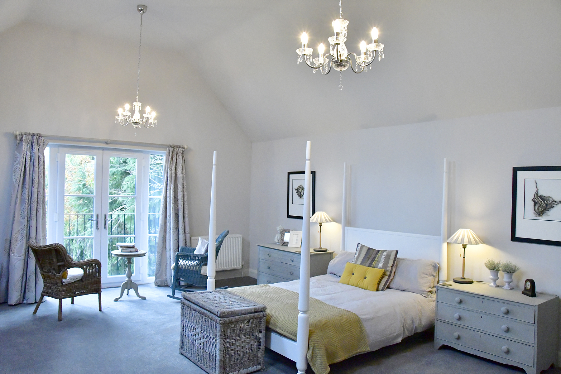 Bedroom Design by Sarah Maidment Interiors, interior designer in Berkhamsted, St. Albans, Hertfordshire